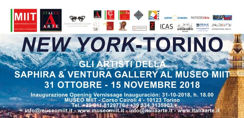 """New York – Torino. Mostra e conferenza: Halzheimer's awareness, Neil Kerman"""