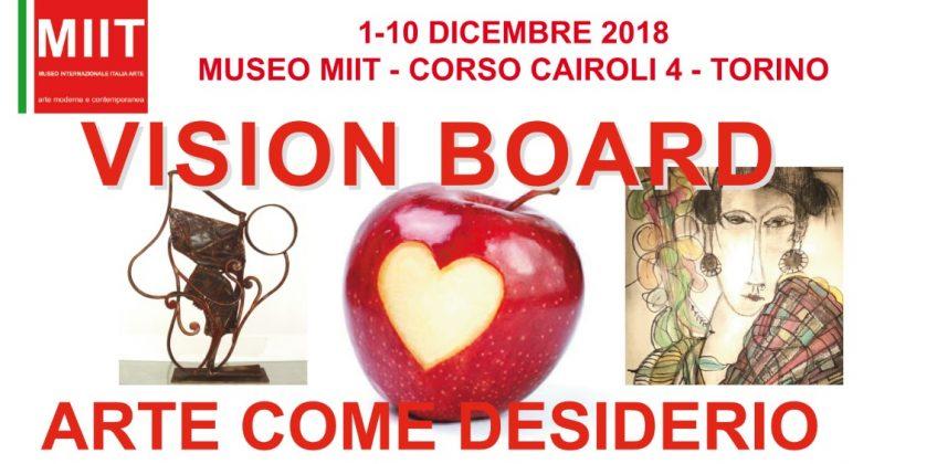 """""""VISION BOARD – ARTE COME DESIDERIO"""""""
