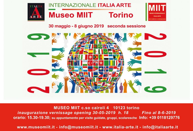 'INTERNAZIONALE ITALIA ARTE 2019 SECONDA SESSIONE' – 30 MAGGIO – 8 GIUGNO 2019 – MUSEO MIIT – TORINO
