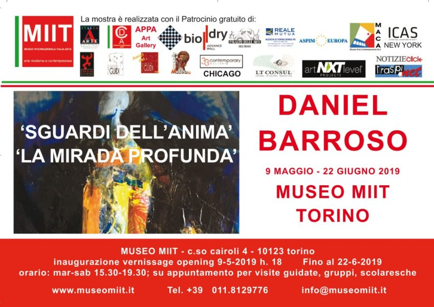 "Daniel Barroso – ""Sguardi dell'anima"", ""La miranda profunda"""