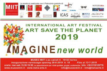'IMAGINE NEW WORLD' – DAL 28 GIUGNO AL 13 LUGLIO 2019