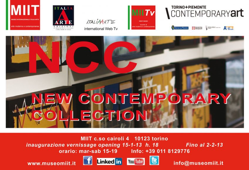 'NCC NEW CONTEMPORARY COLLECTION' – DAL 15-1 AL 2-2-2013