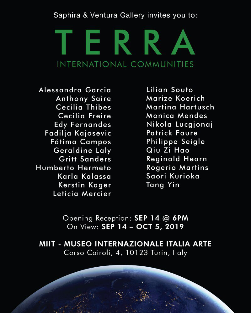 'TERRA. INTERNATIONAL COMMUNITIES' – MUSEO MIIT – TORINO – DAL 14 SETTEMBRE AL 12 OTTOBRE 2019