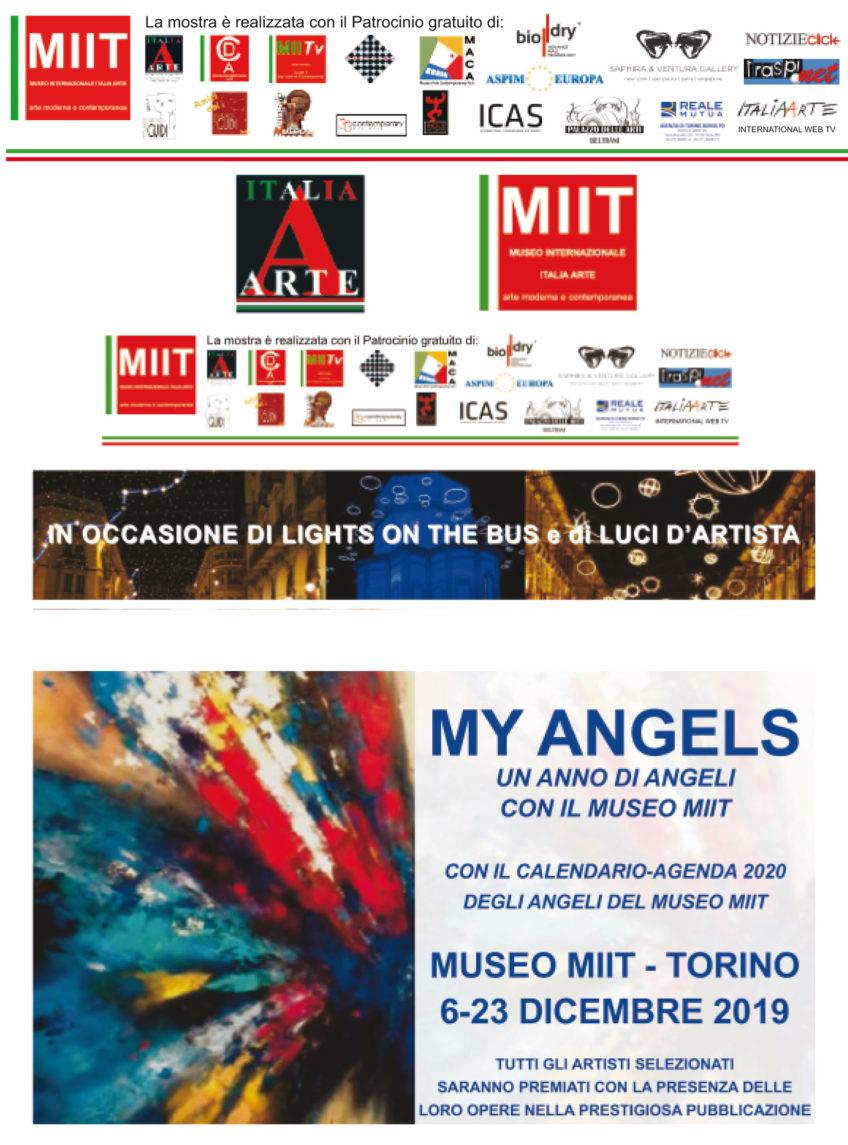 'MY ANGELS' – DAL 6 AL 23 DICEMBRE 2019