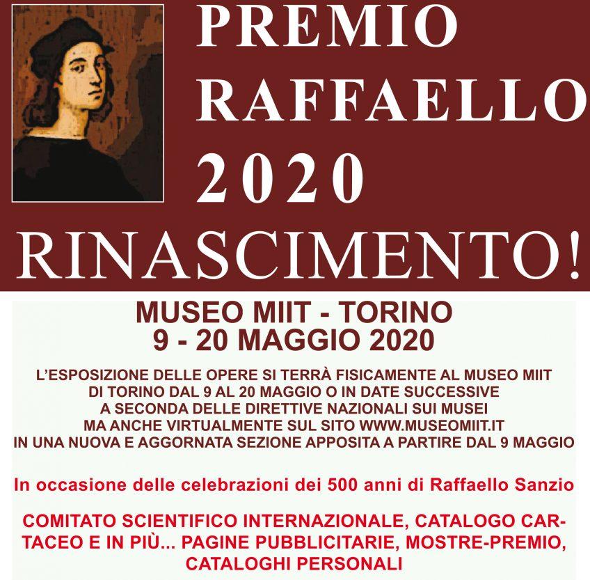 PREMIO RAFFAELLO 2020 – DAL 9 AL 20 MAGGIO 2020