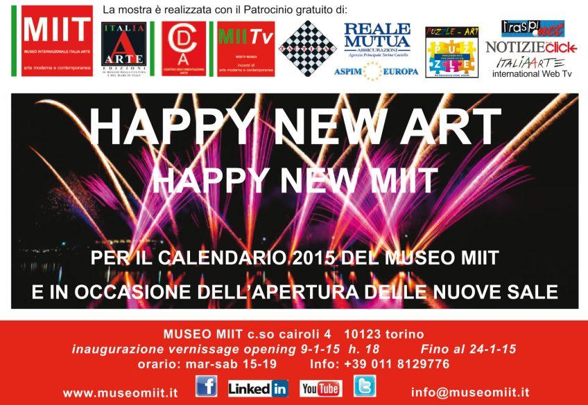 'HAPPY NEW ART' – DAL 9 AL 24 GENNAIO 2015