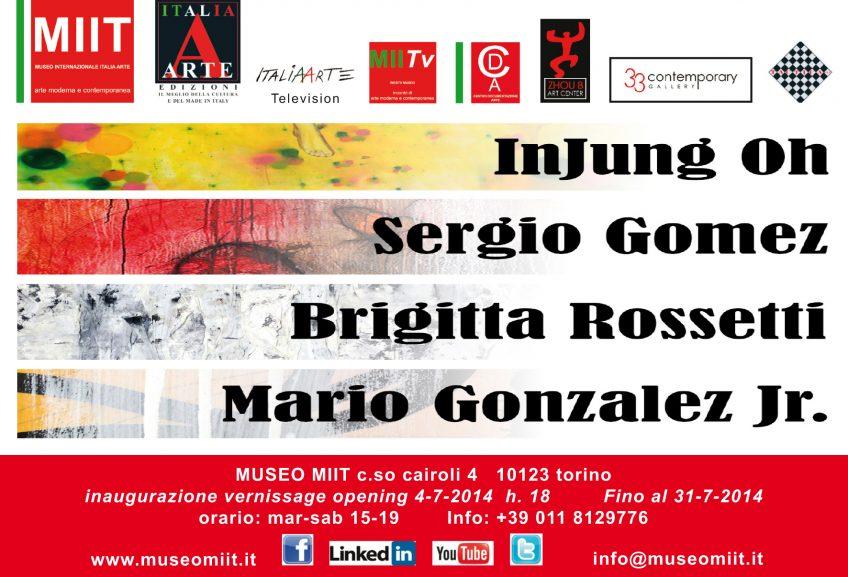 'INJUNG OH – SERGIO GOMEZ' – DAL 4 AL 31 LUGLIO 2014