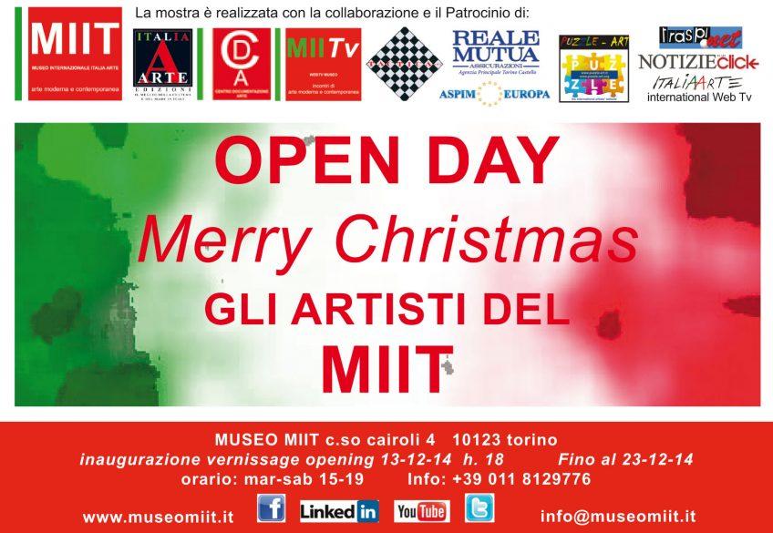 'OPEN DAY' – DAL 13 AL 23 DICEMBRE 2014