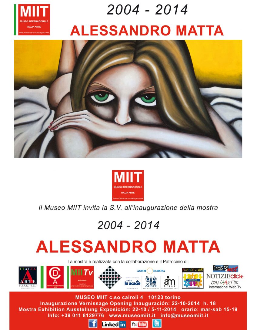 'ALESSANDRO MATTA' – 2004 – 2014