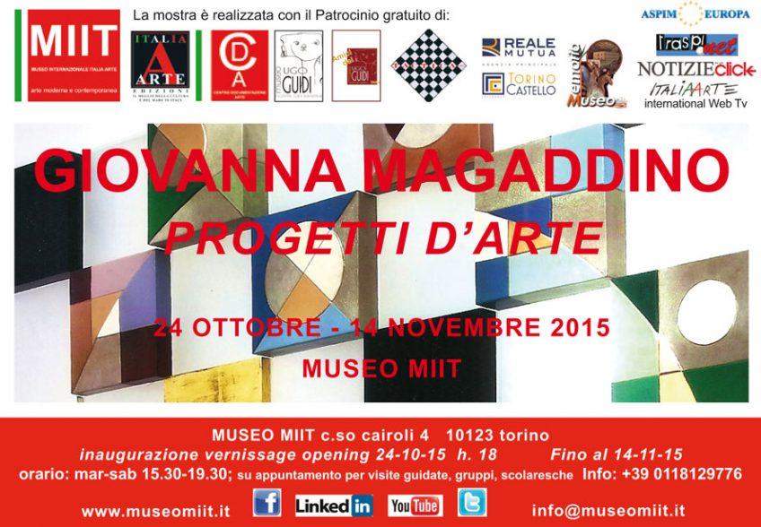 'GIOVANNA MAGADDINO' – DA 24 OTTOBRE AL 14 NOVEMBRE 2015