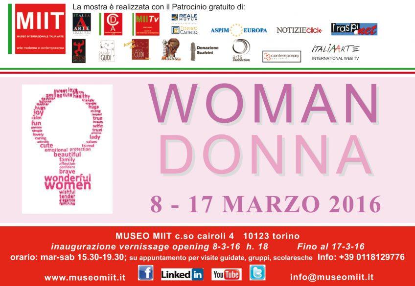 'WOMAN DONNA' – DALL'8 AL 17 MARZO 2016