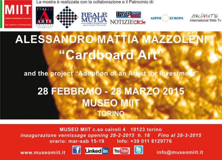 'ALESSANDRO MATTIA MAZZOLENI' – DAL 28 FEBBRAIO AL 28 MARZO 2015
