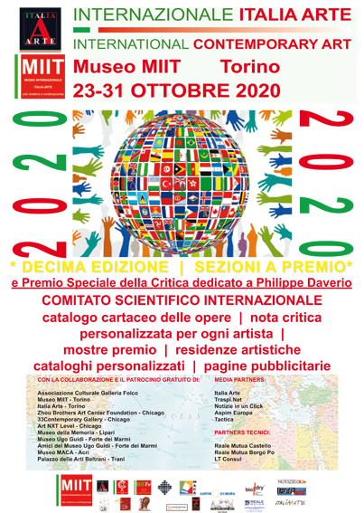 'INTERNAZIONALE ITALIA ARTE / INTERNATIONAL CONTEMPORARY ART – MUSEO MIIT – DAL 23 AL 31 OTTOBRE 2020