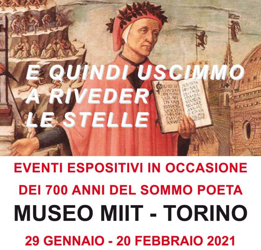 'E QUINDI USCIMMO A RIVEDER LE STELLE' – MUSEO MIIT – DAL 29 GENNAIO AL 20 FEBBRAIO 2021