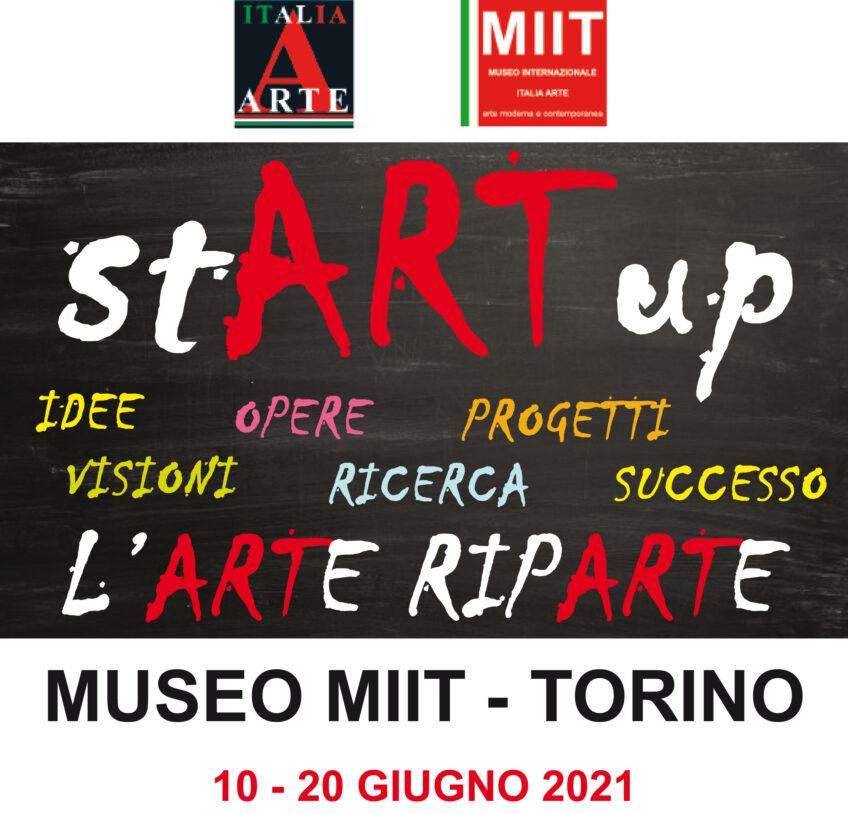 'STARTUP' – MUSEO MIIT – DAL 10 AL 20 GIUGNO 2021