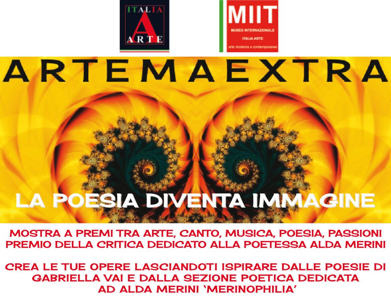 'ARTEMAEXTRA. LA POESIA DIVENTA IMMAGINE' – MUSEO MIIT – DAL 2 AL 12 OTTOBRE 2021